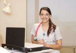 KCC Nursing grad Cierra Landon.