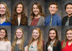 The KCC Foundation's 2018-19 class of Gold Key Scholars.