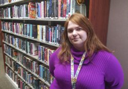 KCC Book Club President Stephanie Kartheu.