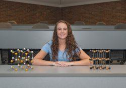 KCC science student Kim Kusler