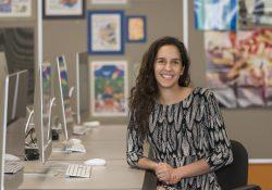 KCC Graphic Design alumna Sara Way