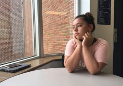 A portrait of KCC Journalism and News Writing Camp camper Taylor Groth shot by fellow camper Ellah Pace.