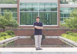 KCC Gold Key Scholar Logan Bateman.