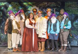 "The cast of KCC's 2016 Opera Workshop production ""Snow White: The Opera."""