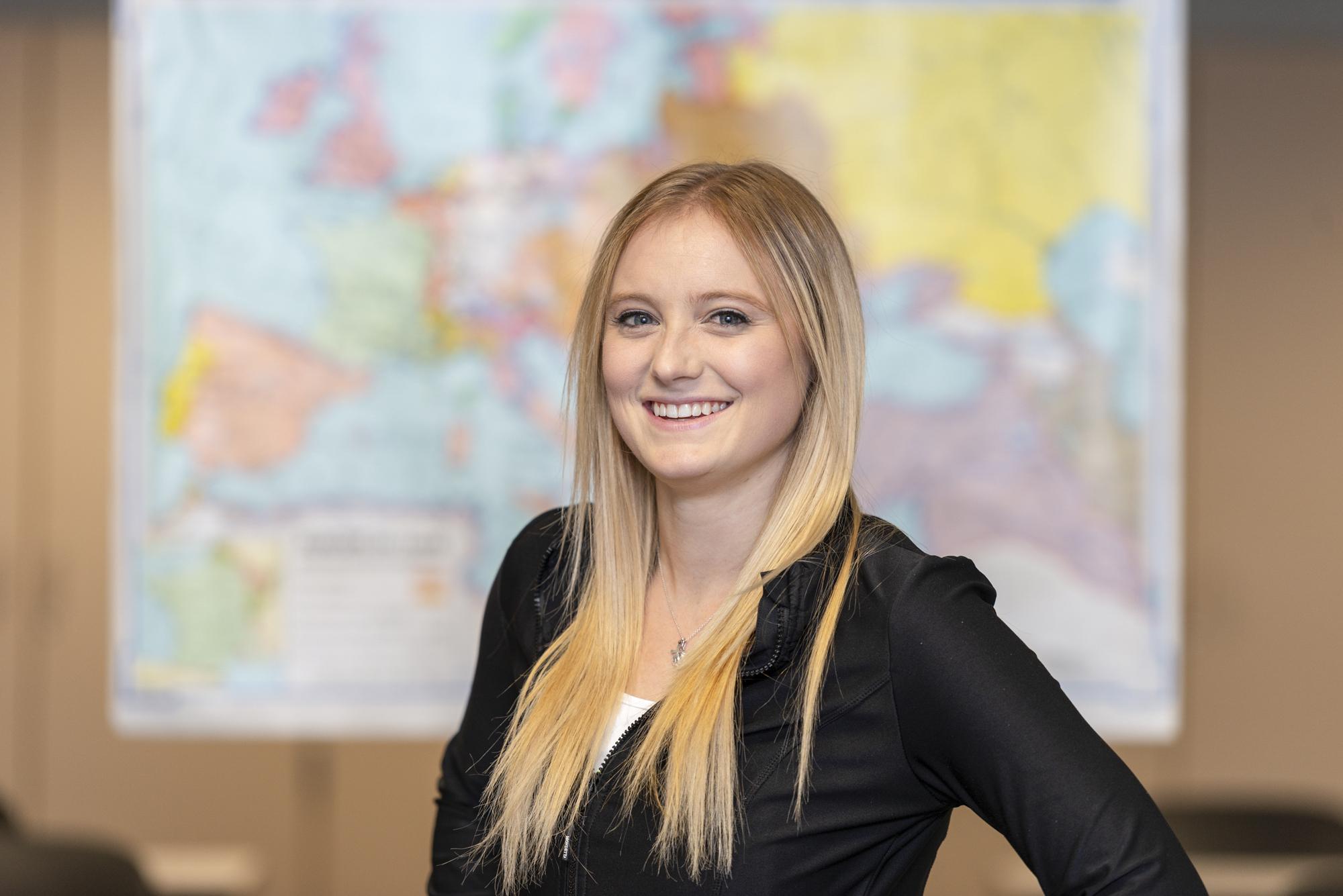 Kellogg Community College student Victoria Elyea.