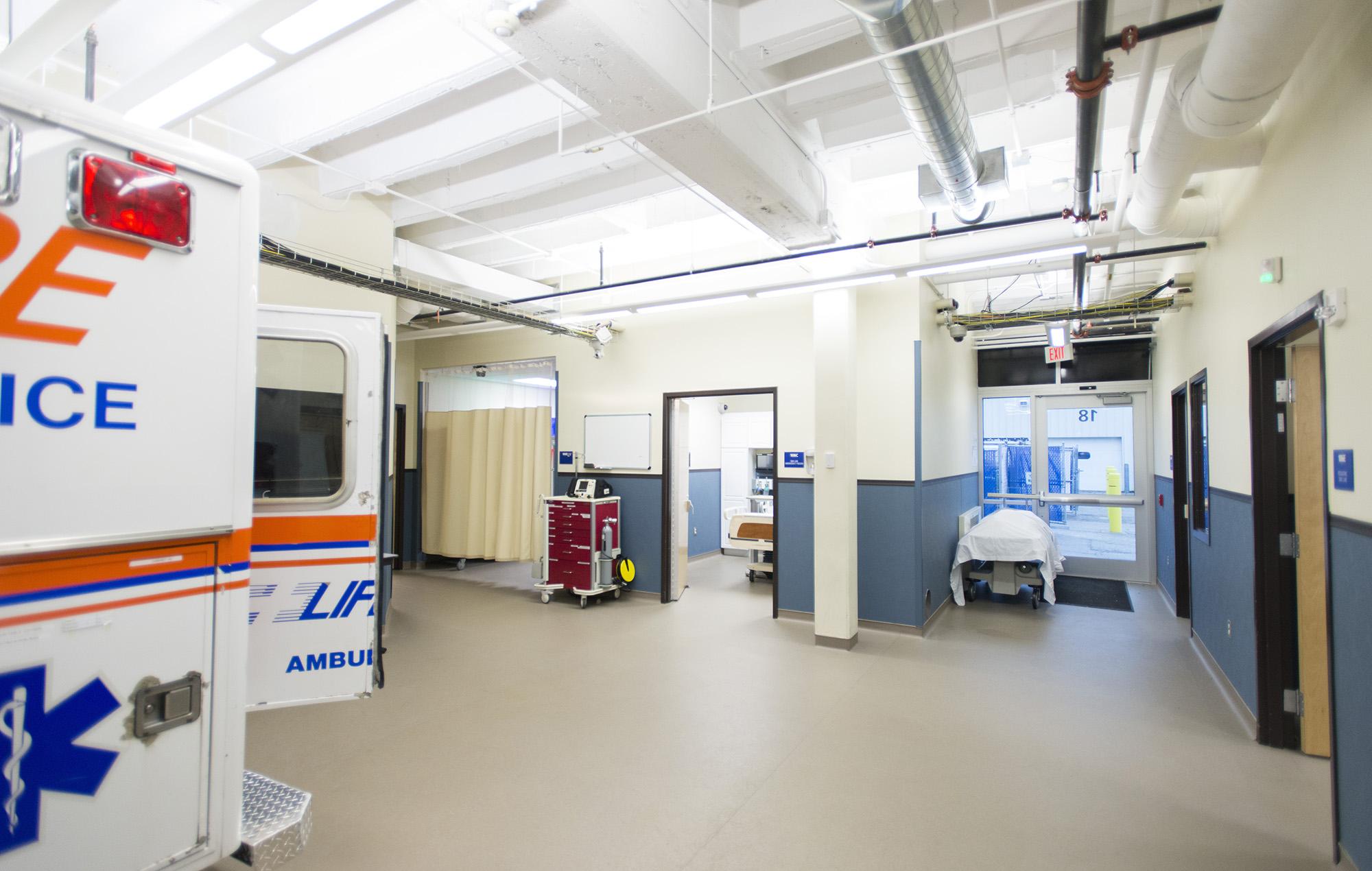 KCC's EMS Sim Lab.