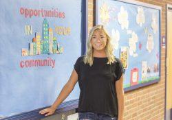 KCC alumna Amber Hartlerode.