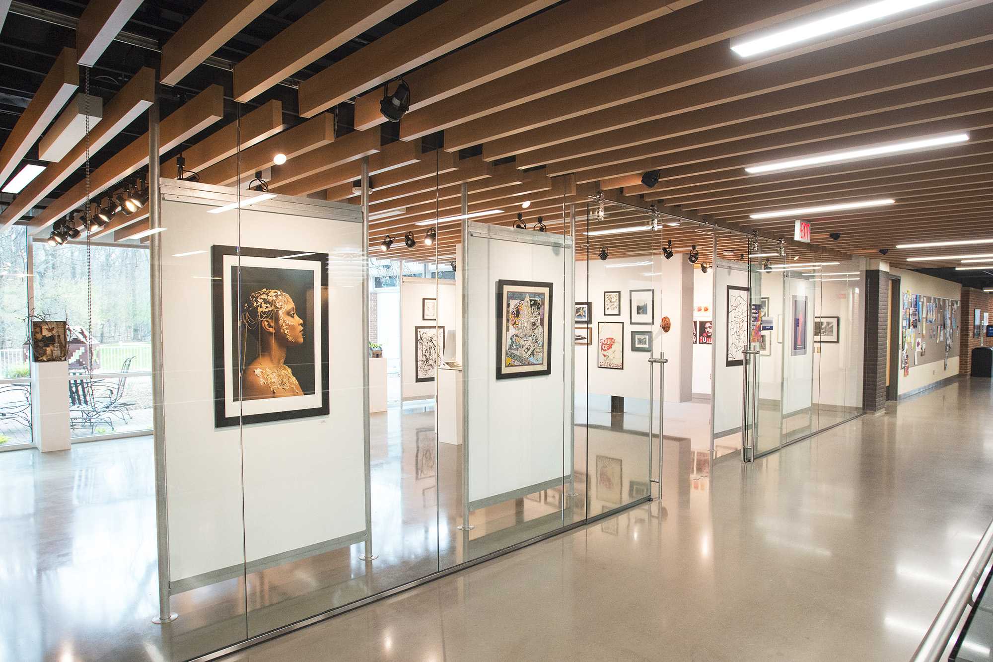 KCC's 2019 Annual Student Art Exhibition on display in the College's DeVries Gallery.