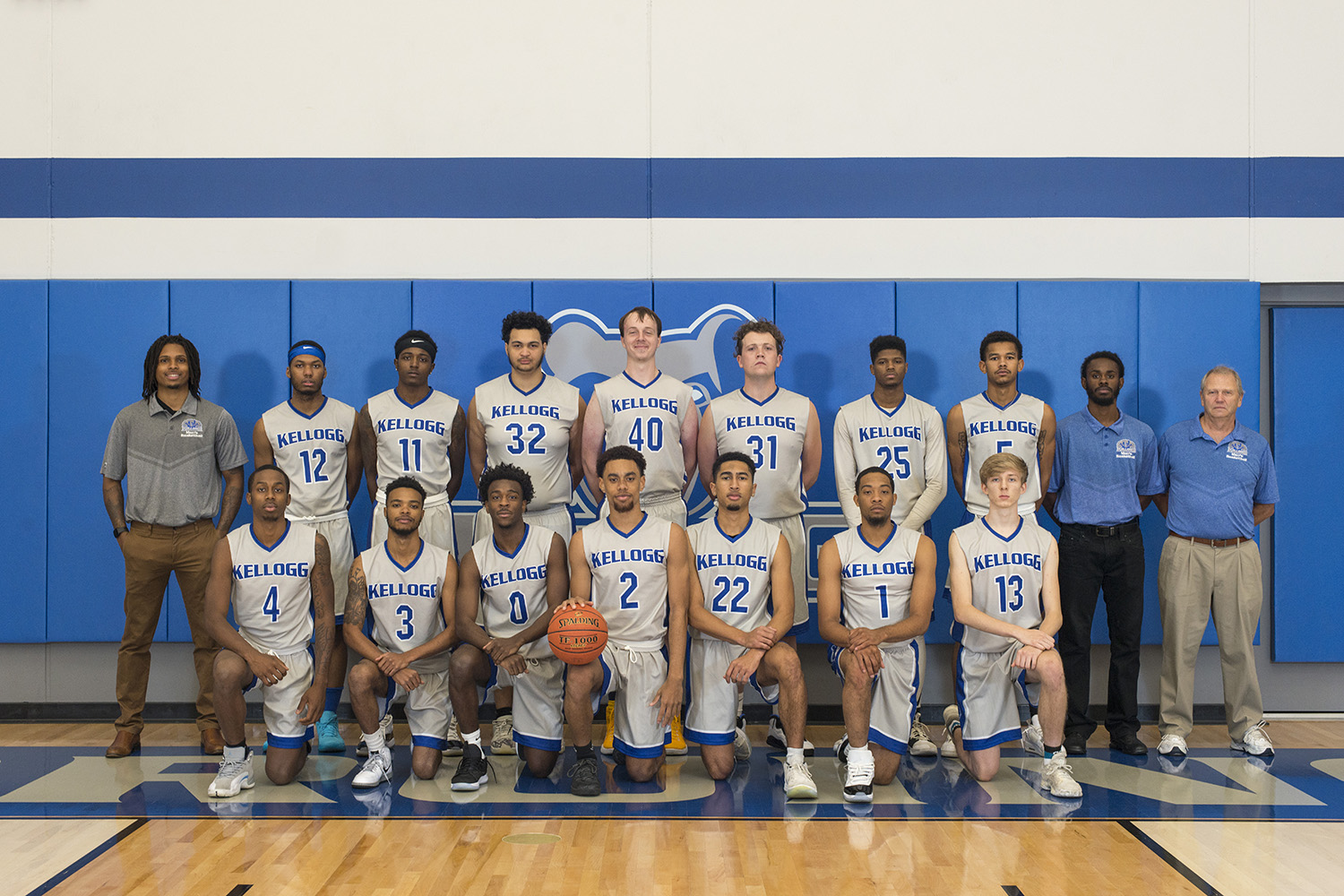 KCC's 2019-20 men's basketball team.