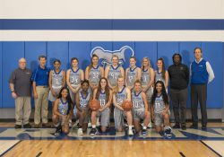 KCC's 2019-20 women's basketball team.