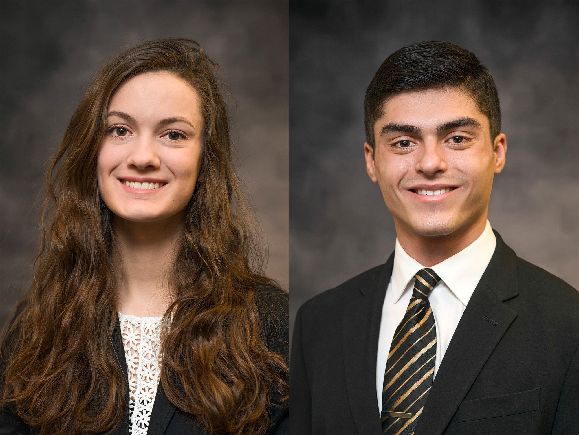 Abigail Boyer and Tristen Rivera