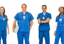 KCC Nursing students.