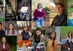A collage of portraits of KCC's 2020 Gold Key Scholars.