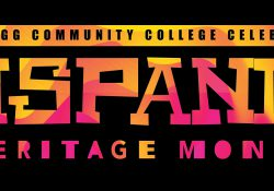 "A text slide that reads ""Kellogg Community College celebrates Hispanic Heritage Month."""