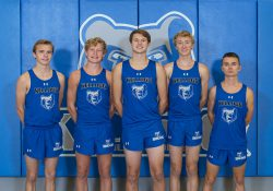 KCC's 2020 men's cross country team.