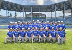 A team photo of KCC's 2021 baseball team.